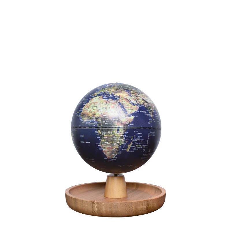 5英寸(13cm)充电式触控款卫星置物底座音乐地球仪