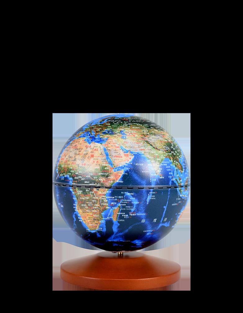 5英寸(13cm)城市之光地球仪