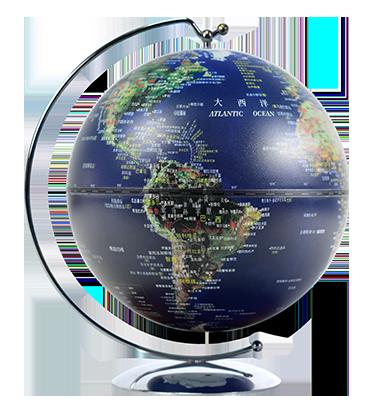 5英寸线弧亮灯地球仪